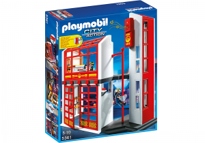 Playmobil competition win a fire station with alarm