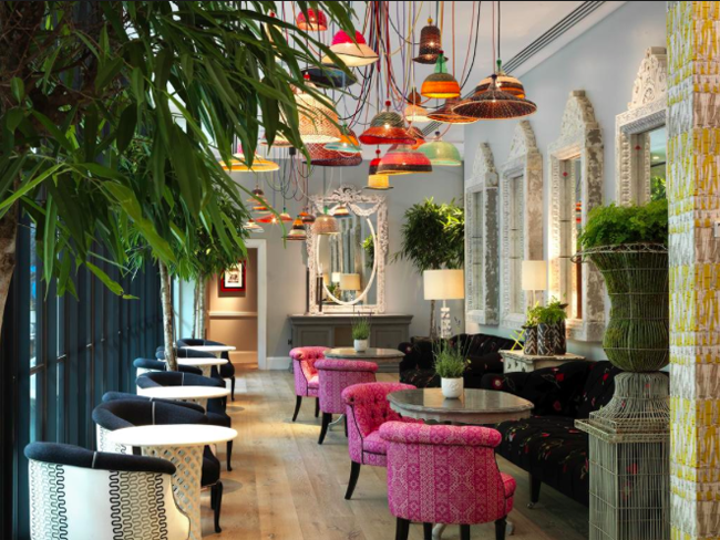 Ham Yard Hotel London meeting spot