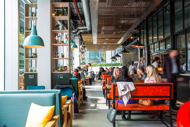 Kupp Paddington London meeting spot