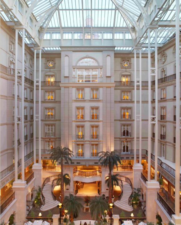 The Landmark Hotel London meeting spot