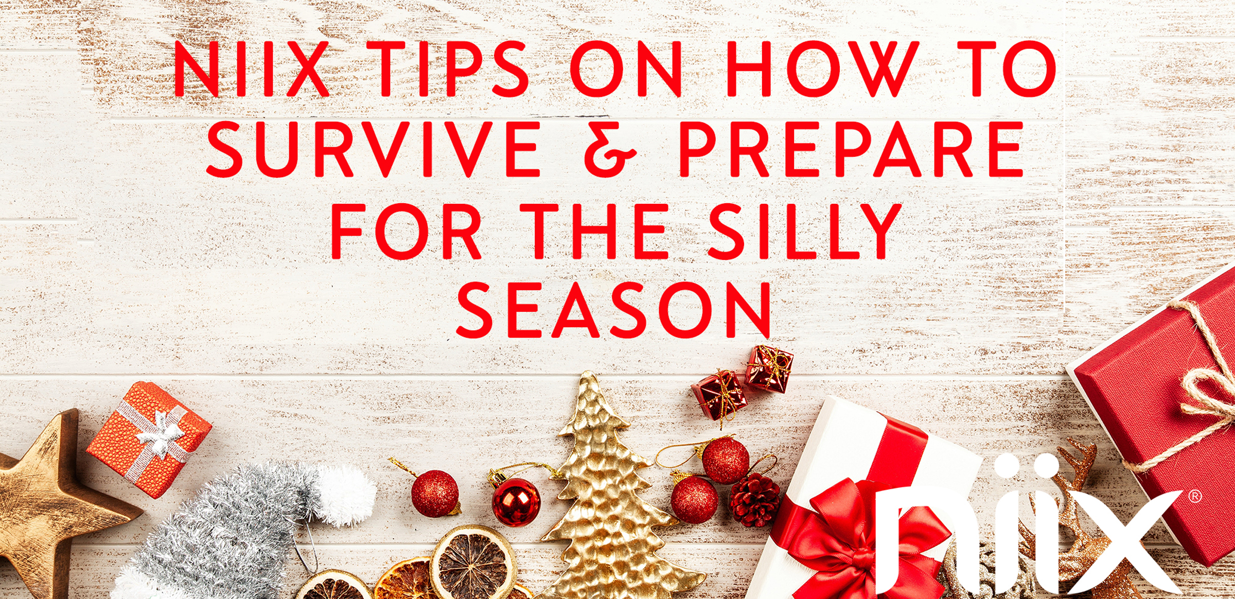 Tips for the holidays